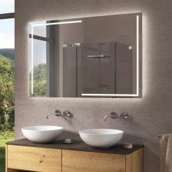 Badspiegel mit LED Beleuchtung - M200L4