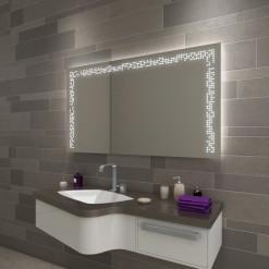 Badezimmerspiegel beleuchtet - F114L3