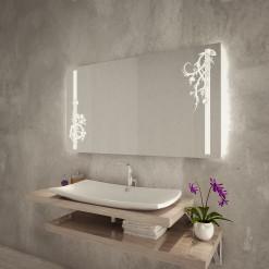 Spiegel mit Ranken-Motiv - F132L2V
