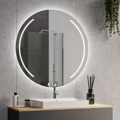Spiegel rund mit Beleuchtung - ELARA