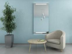Wandspiegel mit Beleuchtung Wohnzimmer MARA