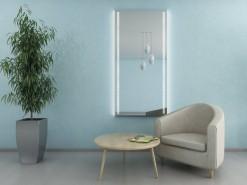Exklusiver LED Wandspiegel MAYA