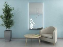 Wandspiegel beleuchtet Diele MAIKE