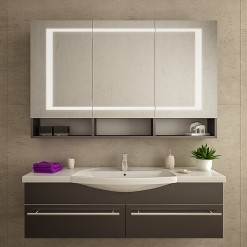 Badspiegelschrank LED - BOZEN