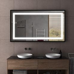 Badspiegel Mit Eingebautem Radio.Badspiegel Led Badezimmerspiegel Mit Beleuchtung Kaufen Spiegel21