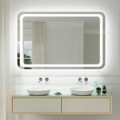 Spiegel mit abgerundeten Ecken F583L4R