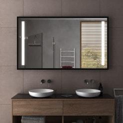 Spiegel mit Rahmen schmal/breit - Münster