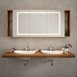 LED Spiegelschrank - SARAGOSSA