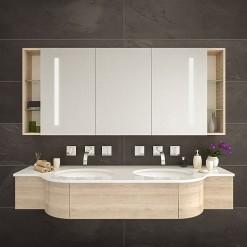 Bad Spiegelschrank beleuchtet - VILLACH