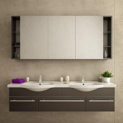 Bad Spiegelschrank - nur INNEN beleuchtet - GRADO