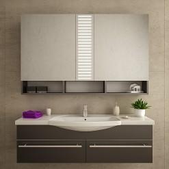 Bad Spiegelschrank mit LED Beleuchtung - ESBERG
