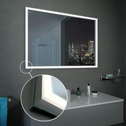 Badspiegel Led Badezimmerspiegel Mit Beleuchtung Kaufen Spiegel21