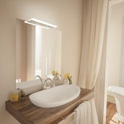 Badspiegel mit Leuchte Katherine