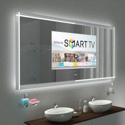Spiegel mit TV und Glas-Rahmen - PECHINA 2