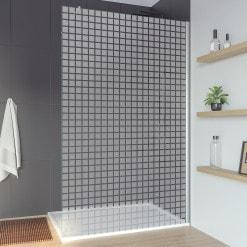 Glas Duschwand Sonderanfertigung CARRE 2