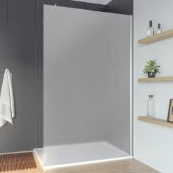 Glas Duschwand ESG Satinato/satiniert AREA 1