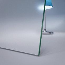 8 mm ESG Glas Satinato Milchglas-Optik