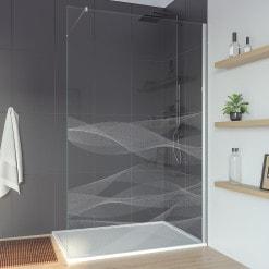 Trennwand für Walk-in Dusche aus Glas ARRAY 2