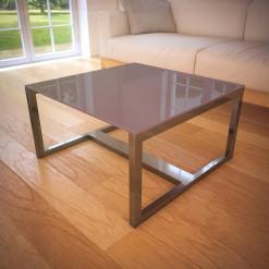 Glasplatte für Tisch Braun - REF 7013