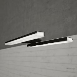 Ebir Spiegelleuchte PANDORA S4 Schwarz 45,8 cm, LED 10W