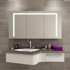 LED-Spiegelschrank nach Maß - DALLAS