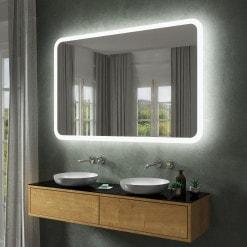 Spiegel mit abgerundeten Ecken F582L4R