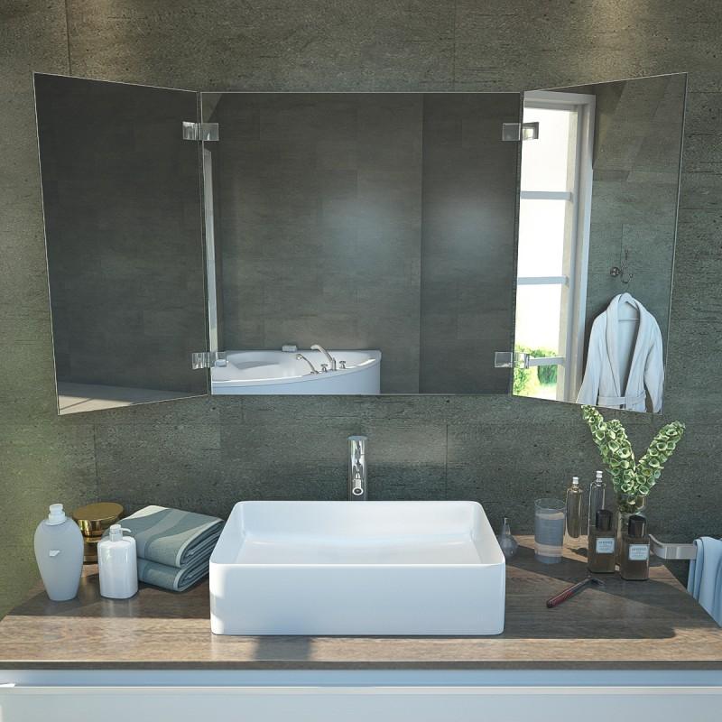 klappspiegel nach ma ohne beleuchtung ks44 online kaufen. Black Bedroom Furniture Sets. Home Design Ideas