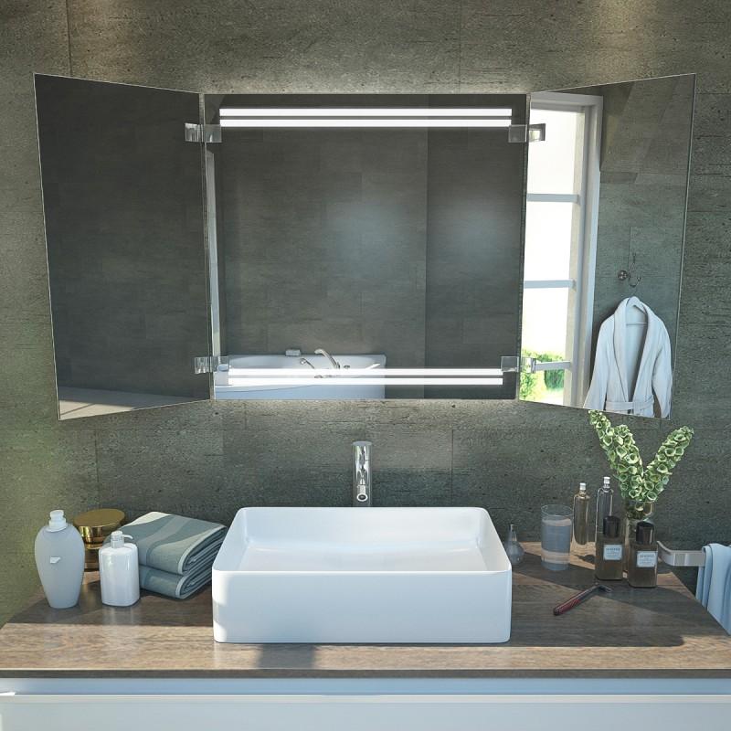 zahra badspiegel klappbar ks14 online kaufen. Black Bedroom Furniture Sets. Home Design Ideas