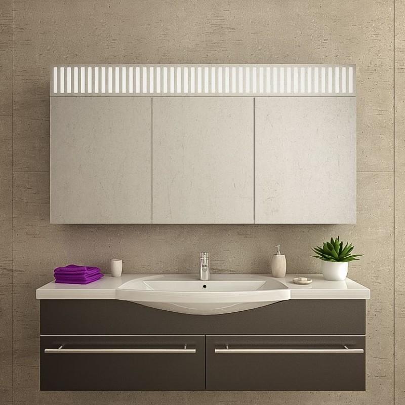 London - Spiegelschrank Badezimmer mit LED Beleuchtung