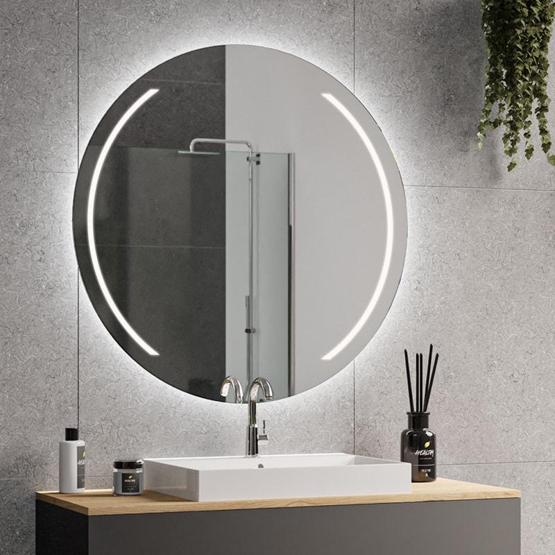 elara spiegel rund mit beleuchtung 02 online kaufen. Black Bedroom Furniture Sets. Home Design Ideas