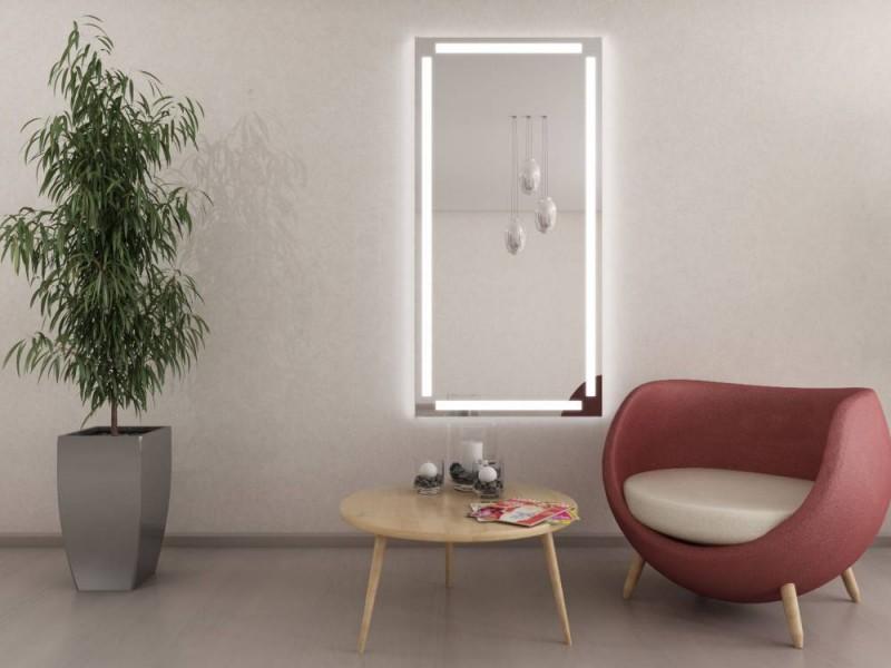 flurspiegel mit led beleuchtung lichtspiegel nach ma ws 105ml4 neta. Black Bedroom Furniture Sets. Home Design Ideas