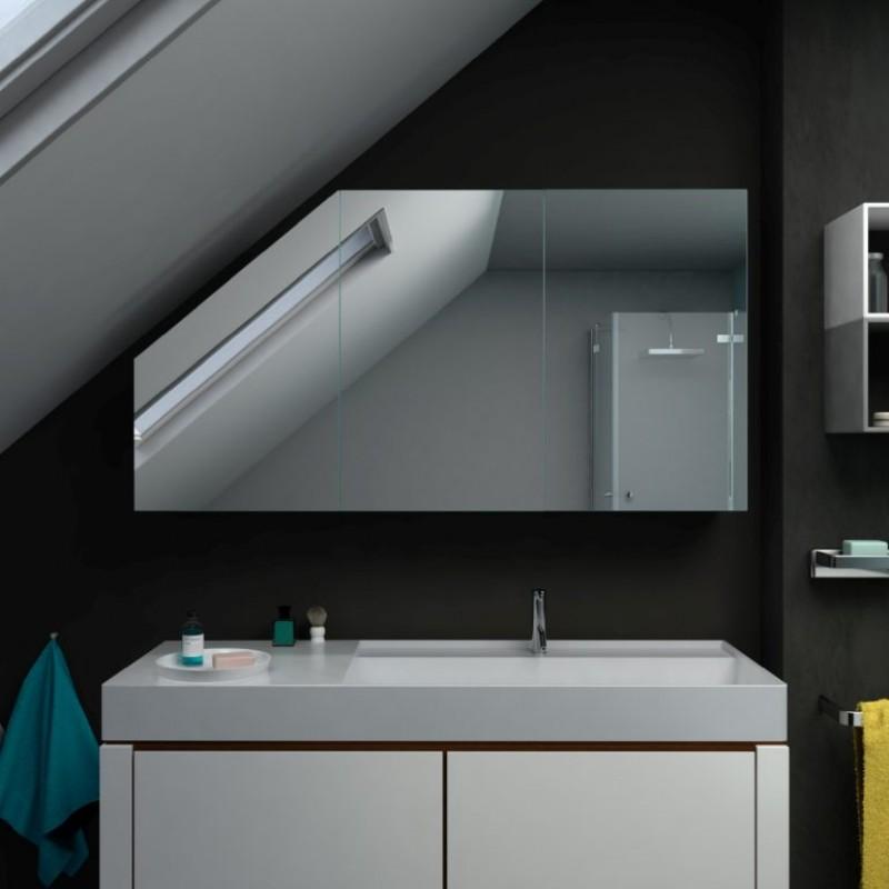 Pure Dachschragen Spiegelschrank Ohne Beleuchtung