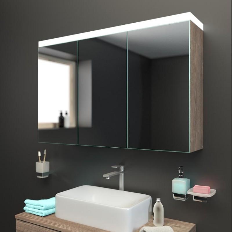 hattingen spiegelschrank mit licht kranz jetzt kaufen. Black Bedroom Furniture Sets. Home Design Ideas