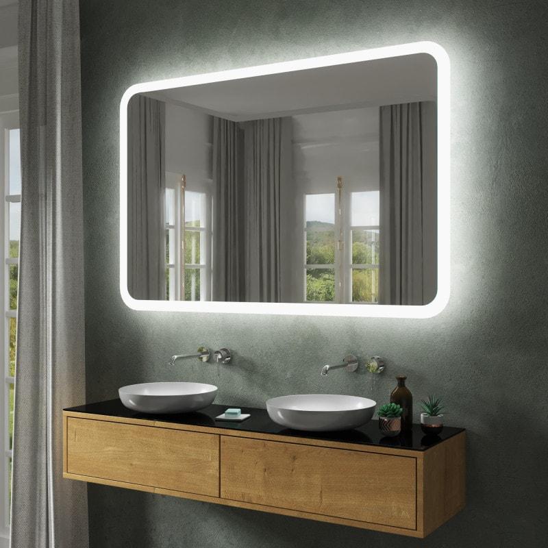 Badspiegel Beleuchtet Led.Badspiegel Led Badezimmerspiegel Mit Beleuchtung Kaufen