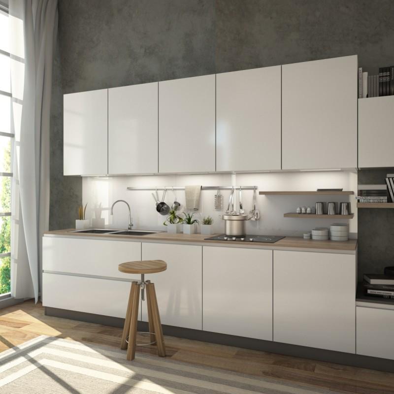Küchenrückwand 300 X 60 | Artland Qualität I Alu Küchenrückwand ...