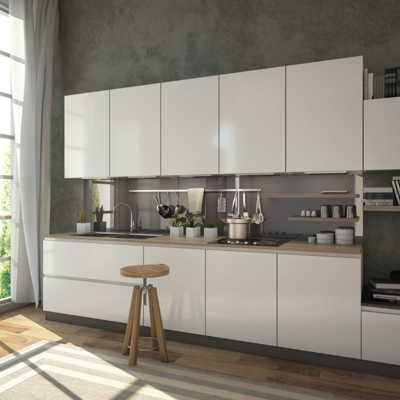 Grau Anthrazit Kuchenruckwand Glas Online Kaufen
