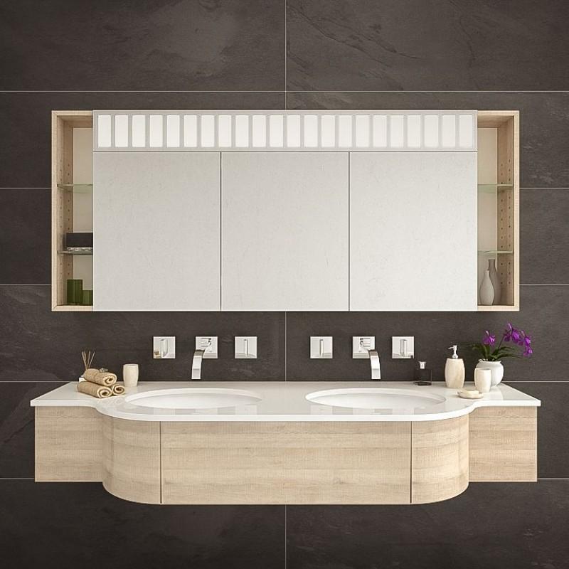 Bergamo Badezimmer Spiegelschrank nach Maß kaufen