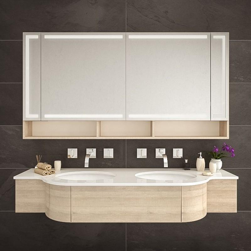 Minneapolis - Spiegelschrank fürs Badezimmer kaufen | Spiegel21