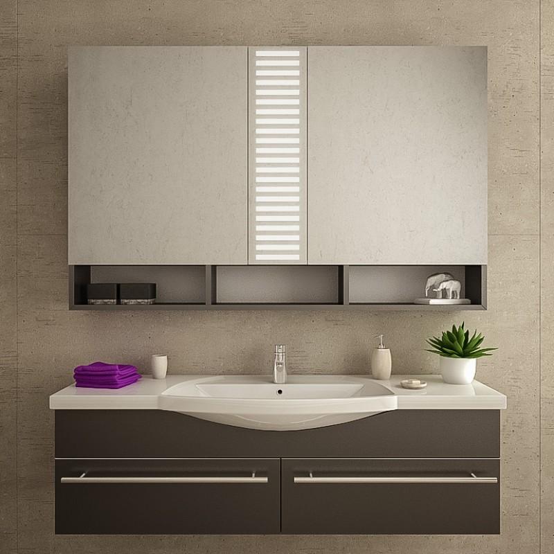 Esberg bad spiegelschrank mit led beleuchtung kaufen for Bad spiegelschranke gunstig
