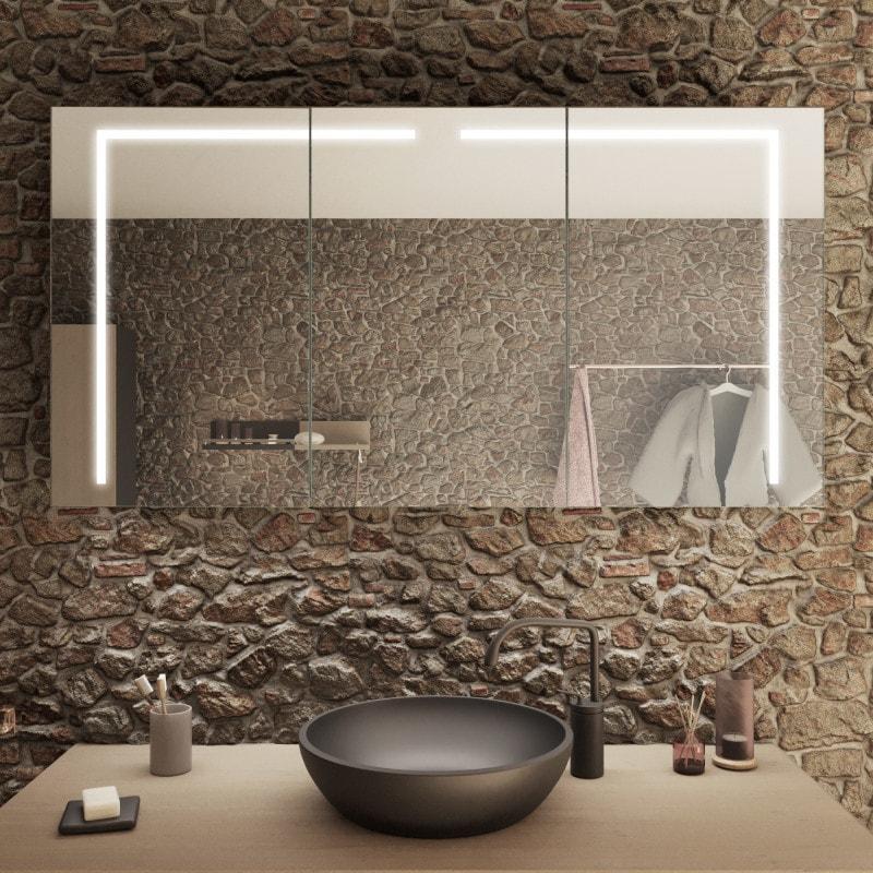 Badezimmer-Spiegelschrank kaufen - Jerusalem | Spiegel21