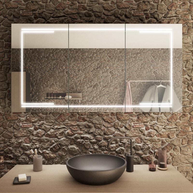 Kairo - LED Spiegelschrank fürs Badezimmer kaufen | Spiegel21