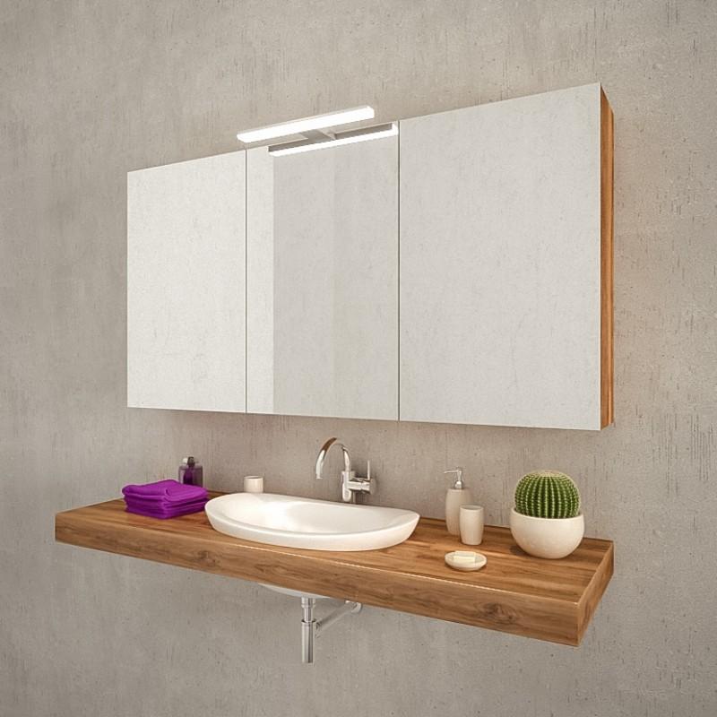 pandora bad spiegelschrank mit led leuchte jetzt kaufen. Black Bedroom Furniture Sets. Home Design Ideas