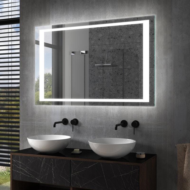 frisco badspiegel mit led beleuchtung online kaufen. Black Bedroom Furniture Sets. Home Design Ideas