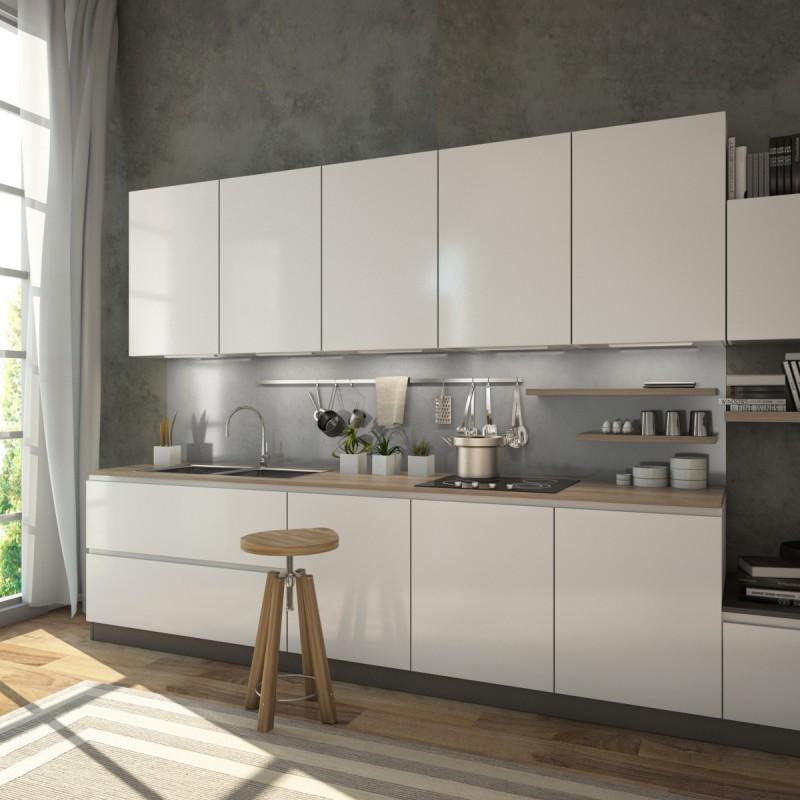 Küchenrückwand: Glas-Rückwand Küche als Spritzschutz | Spiegel21