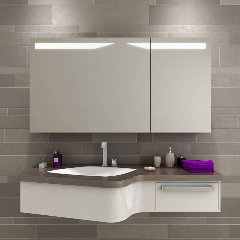Belfast - Bad Spiegelschrank beleuchtet, Auf-/Unterputz online kaufen