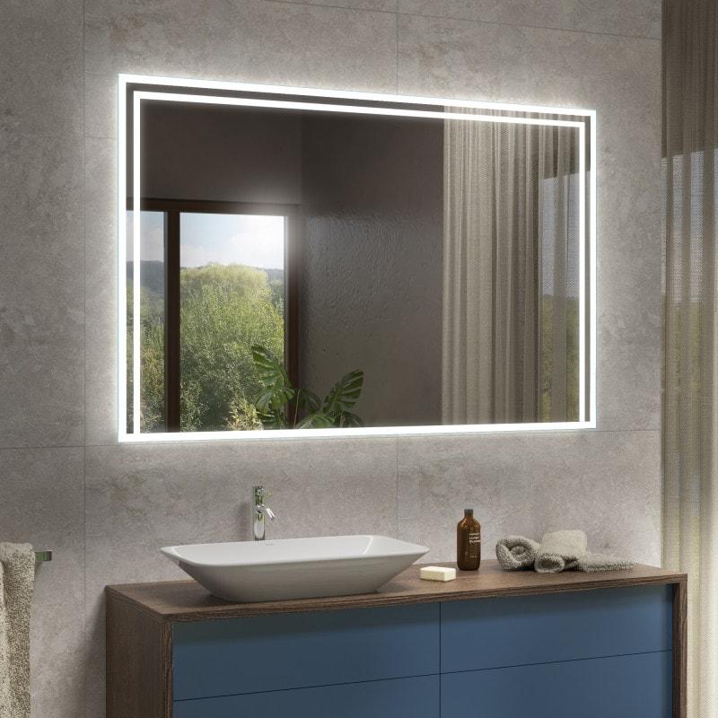mojacar badspiegel mit led beleuchtung online kaufen. Black Bedroom Furniture Sets. Home Design Ideas