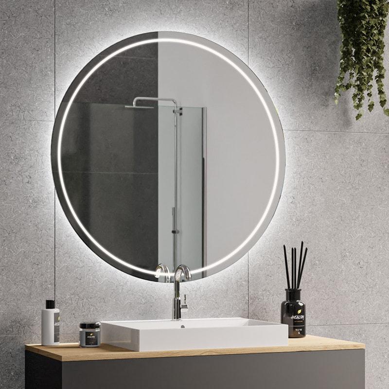 Runder Spiegel - auch mit Beleuchtung - online kaufen ...