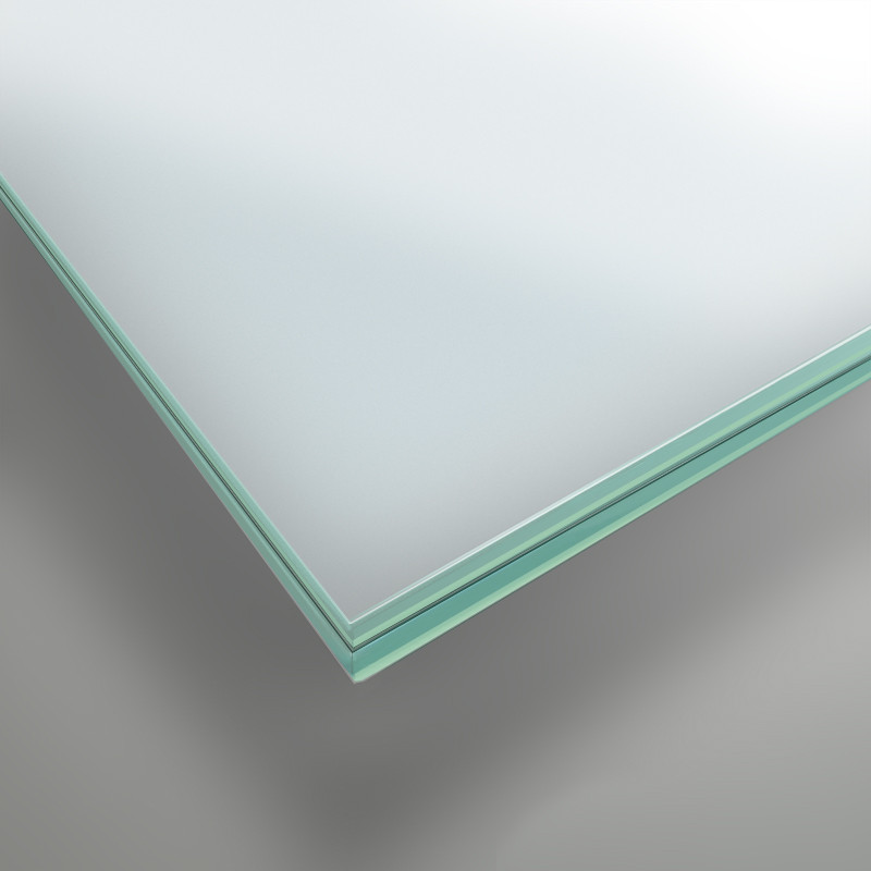 8 mm VSG Glas matt