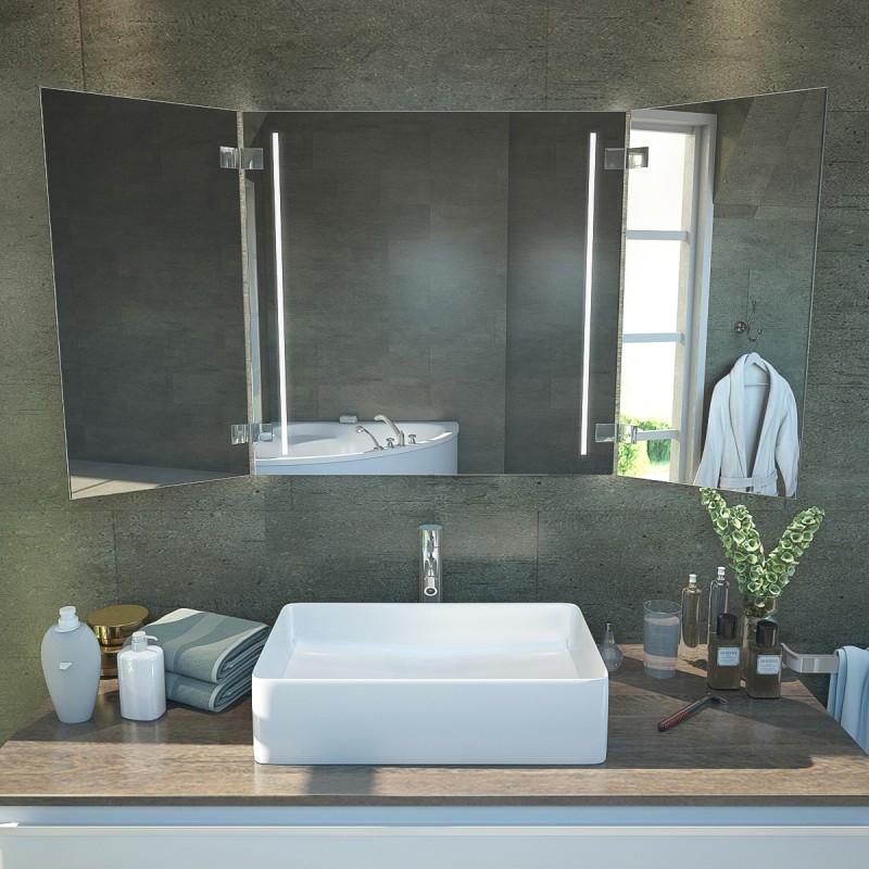 Lillian - Badezimmer Klappspiegel KS34 online kaufen