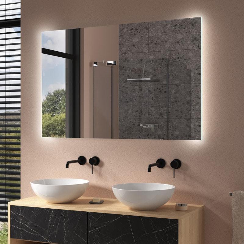 Badezimmer Spiegel mit Hintergrundbeleuchtung - M15L2V